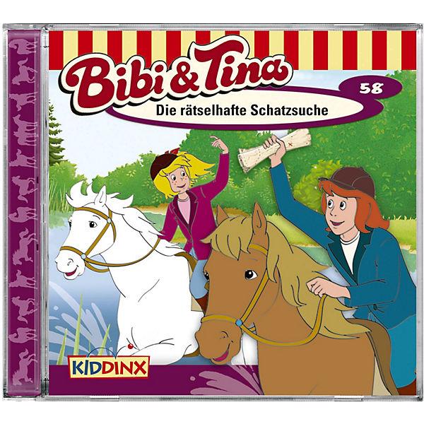 Cd Bibi Tina 58 Die Rätselhafte Schatzsuche Bibi Und Tina
