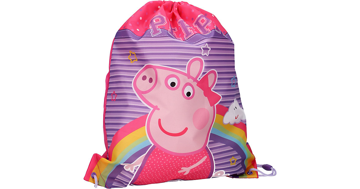 Sportbeutel Peppa Pig Make Believe rosa