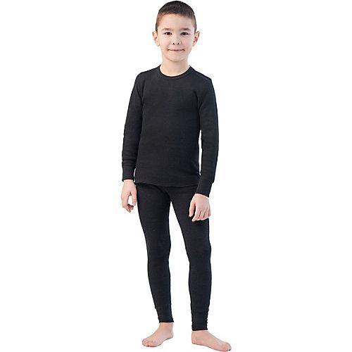 Фуфайка детская (термобелье) - черный
