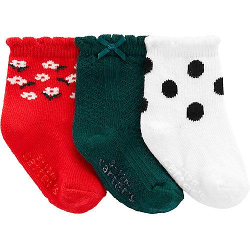 Носки carter`s, 3 пары - mehrfarbig