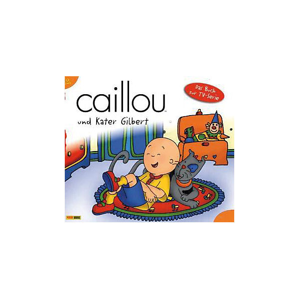 Caillou und Kater Gilbert
