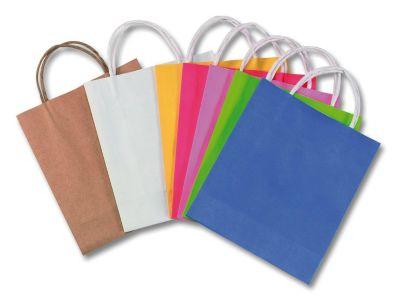 Matratzen farbig  Papiertüten 12 x 15 cm farbig, 10 Stück, Folia   myToys
