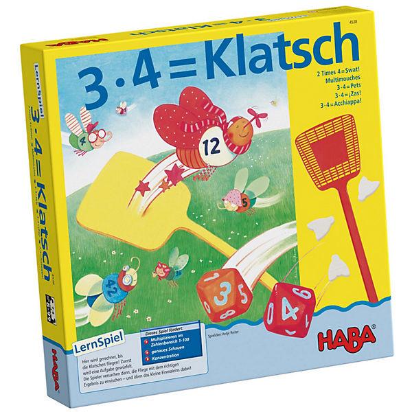 3 x 4 = Klatsch, Haba