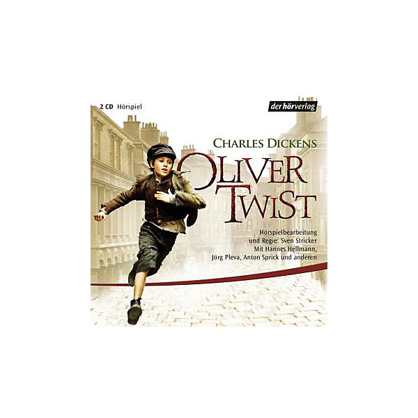 Oliver Twist, 2 Audio-CDs