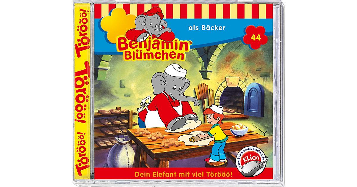 CD Benjamin Blümchen 44 - als Bäcker Hörbuch
