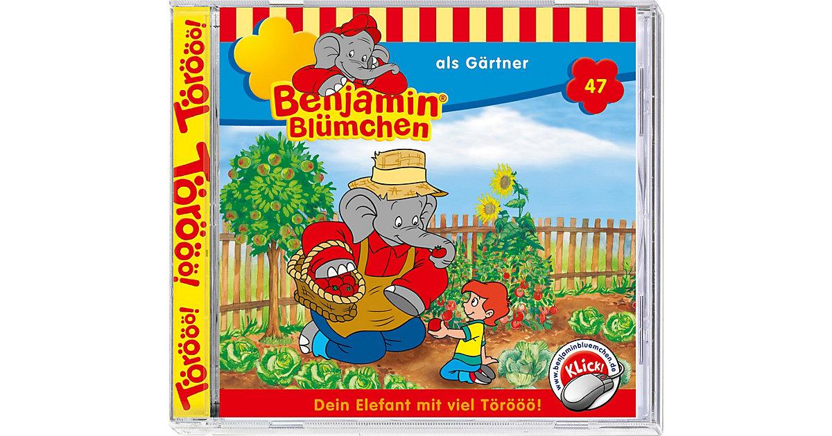 CD Benjamin Blümchen 47: Als Gärtner Hörbuch