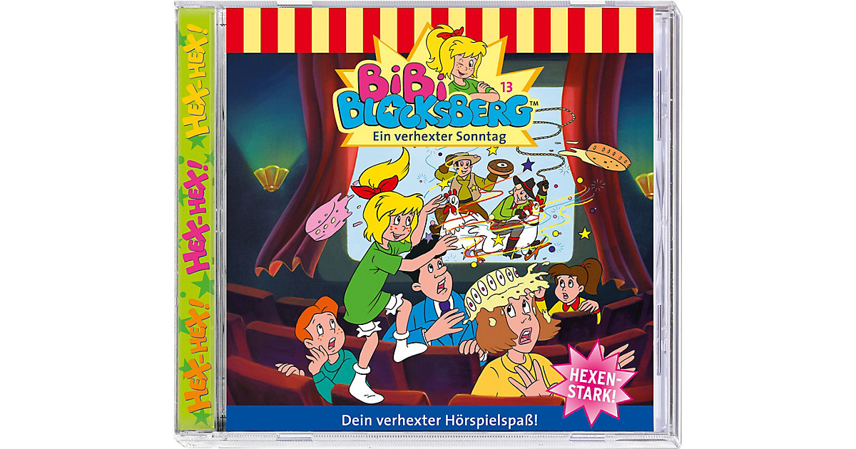CD Bibi Blocksberg 13: Ein verhexter Sonntag