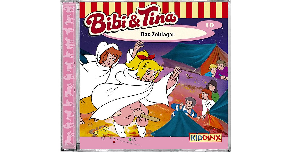 CD Bibi & Tina 10: Das Zeltlager Hörbuch