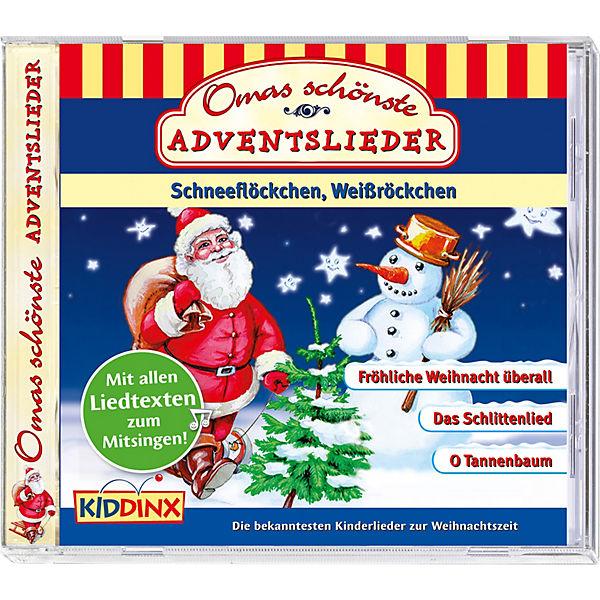 Cd Weihnachten.Cd Omas Schönste Adventslieder Weihnachten Kiddinx