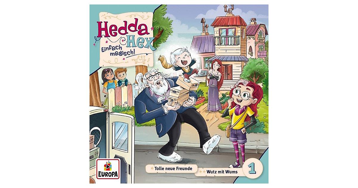 CD Hedda Hex 01 - Tolle neue Freunde/Wutz mit Wums Hörbuch