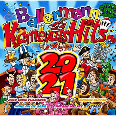 CD Ballermann Karnevals Hits 2021 (2 CDs)