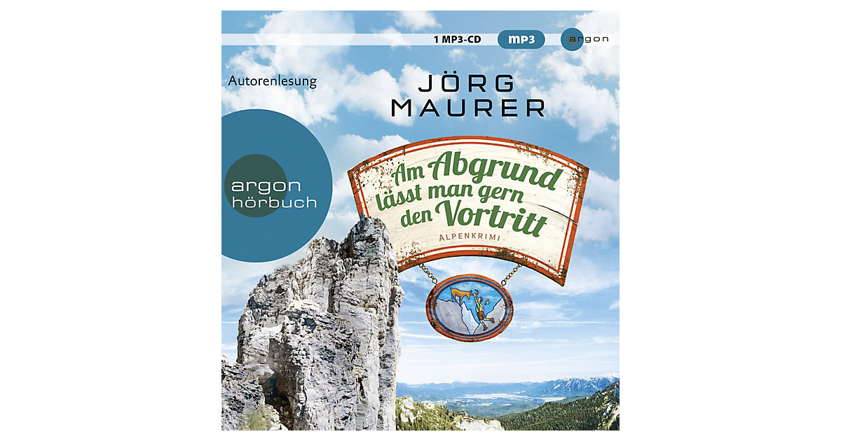 CD Jörg Maurer - Am Abgrund lässt man gern den Vortritt (SA), 1 MP3-CD Hörbuch