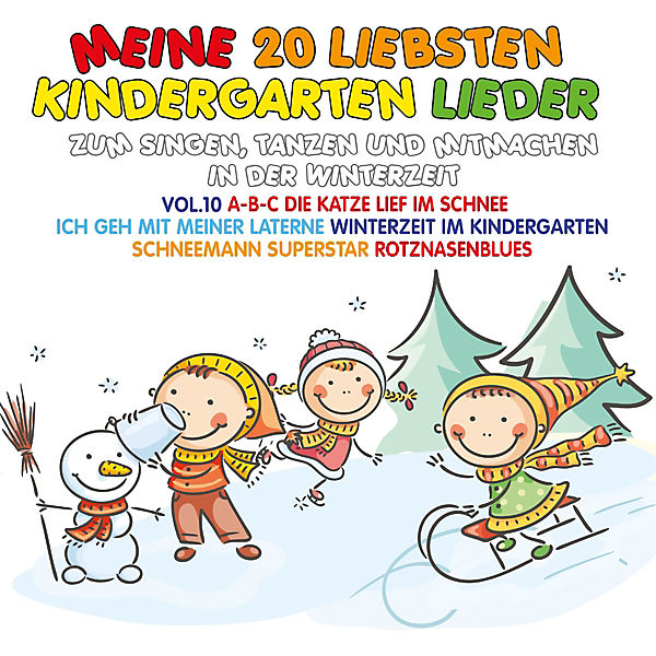 CD Meine 20 Liebsten Kindergarten Lieder Vol.10