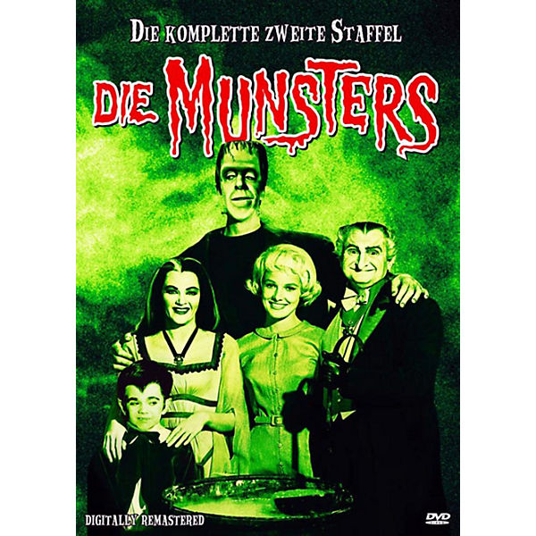 DVD Die Munsters - Staffel 2