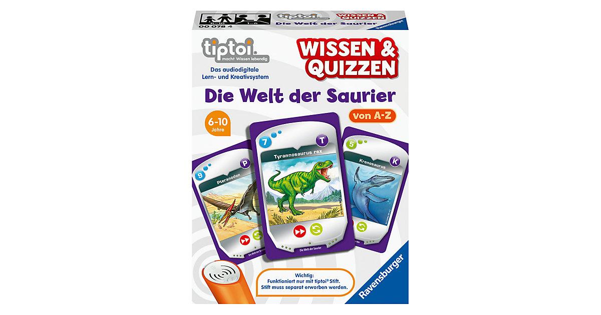 tiptoi® Wissen & Quizzen: Die Welt der Saurier