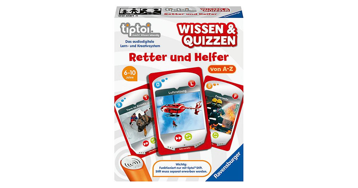 tiptoi® Wissen & Quizzen: Retter und Helfer