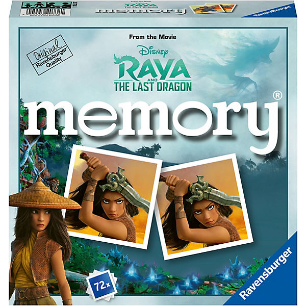 Disney Raya and the last Dragon memory® 72 Karten (36 Paare)