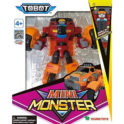 """Трансформер Young Toys """"Детективы Галактики"""" Мини-Тобот Монстр от Young Toys"""