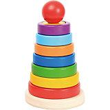 """Пирамидка-сортер """"Знайка"""": 16 см, 16 дет."""
