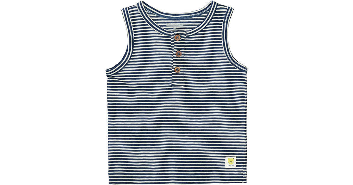 Baby Unterhemd  denim Gr. 86 Jungen Kleinkinder