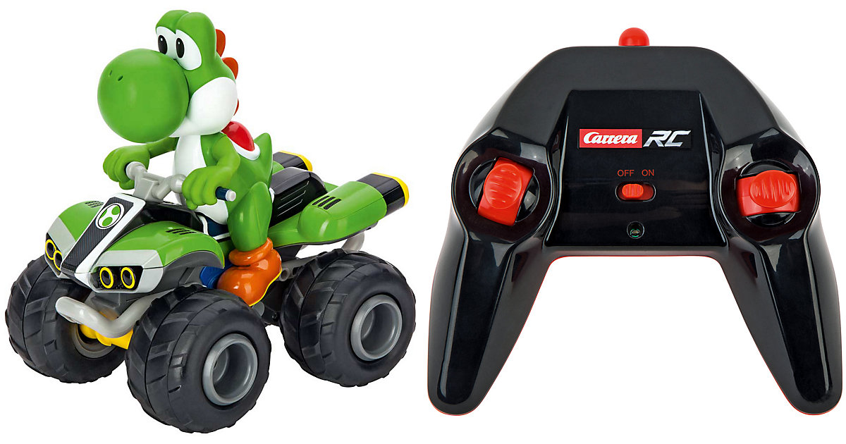 Carrera RC 2,4GHz Mario Kart, Yoshi - Quad grün