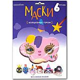 Набор маскарадных масок VoiceBook Волшебные герои, 6 образов