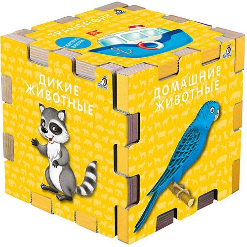 """Книжный кубик """"Для самых маленьких"""" от Робинс"""