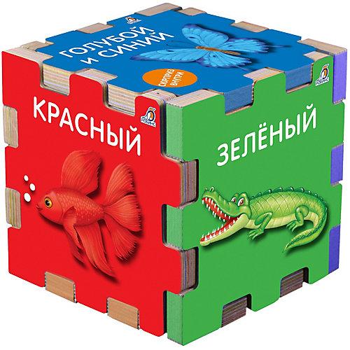 """Книжный кубик """"Цвета"""" от Робинс"""