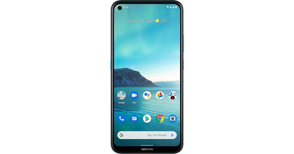 Nokia 3.4, Dual-SIM, 64, blau