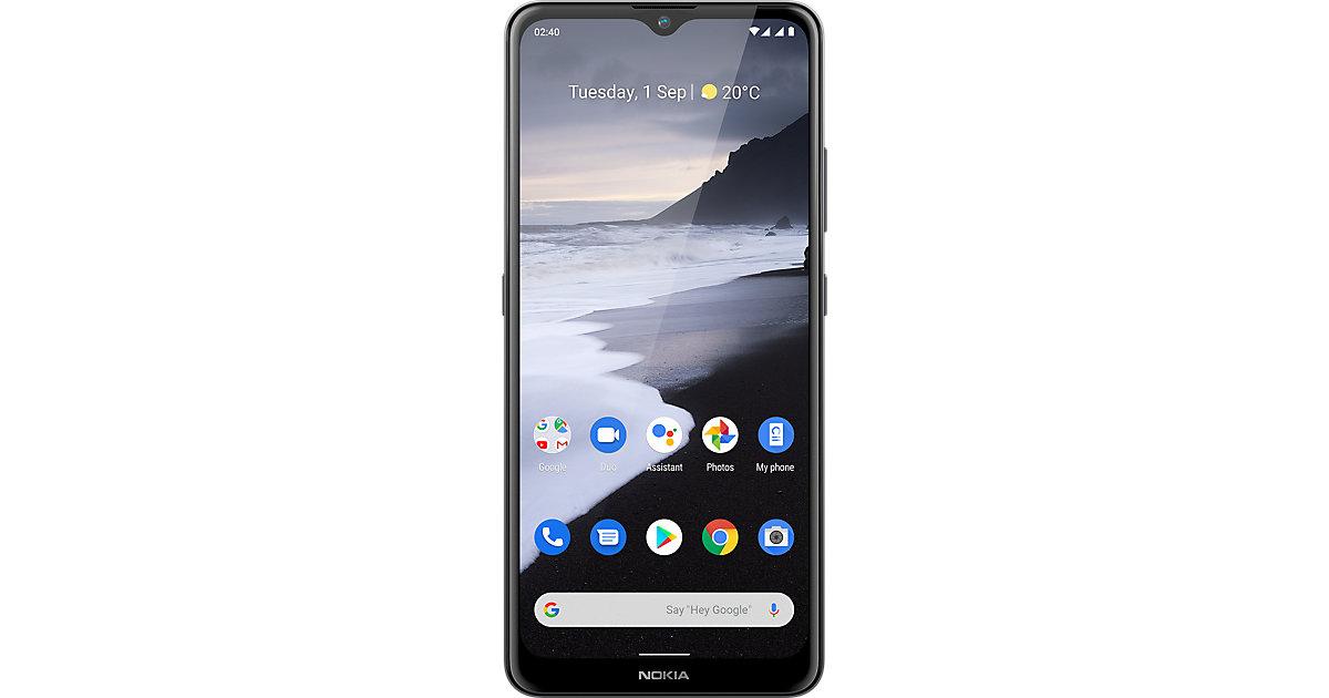 Nokia 2.4, Dual-SIM, 32, grau