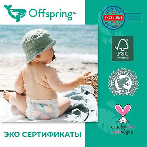 Трусики-подгузники Offspring Тропики 6-11 кг, 42 шт от Offspring
