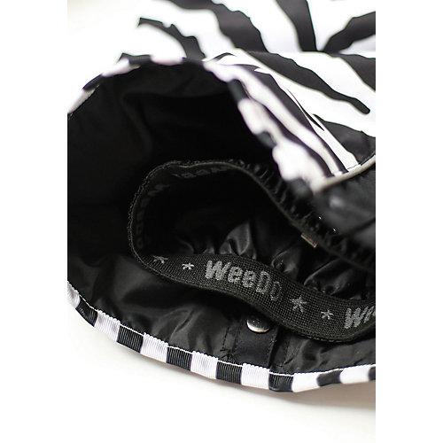 Утеплённый комбинезон WeeDo Зебра - черный/белый