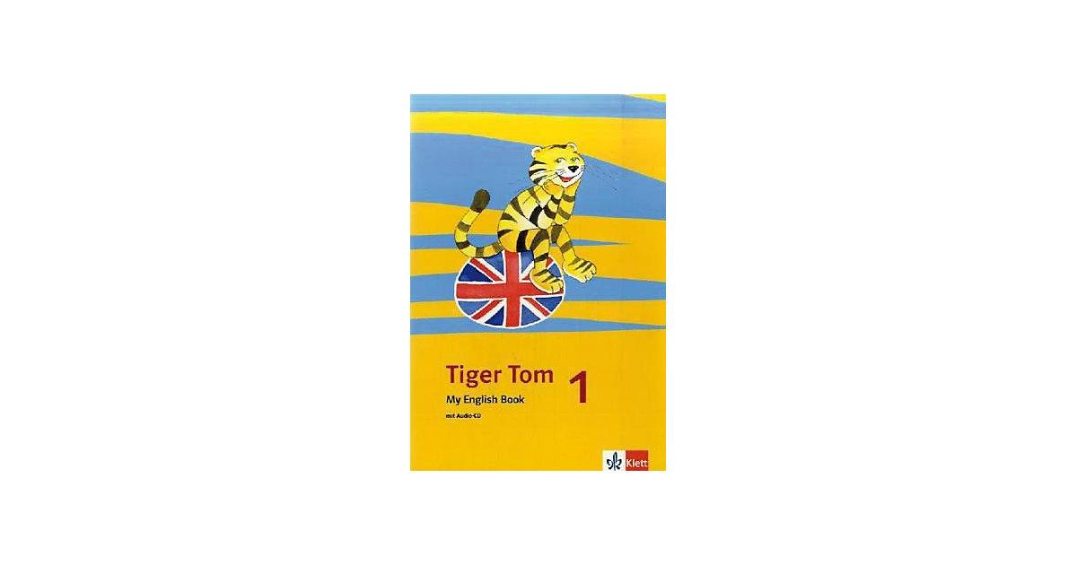 Tiger Tom: 1. Schuljahr, My English Book m. Aud...