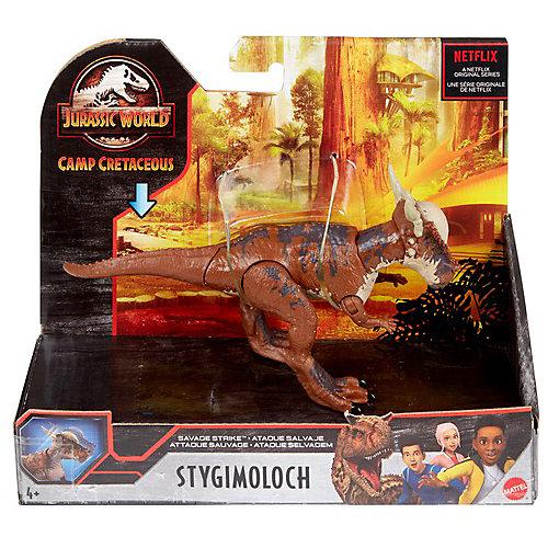 Базовая фигурка динозавра Jurassic World Стигимолох от Mattel