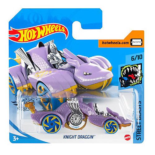 Базовая машинка Hot Wheels Knight Draggin от Mattel
