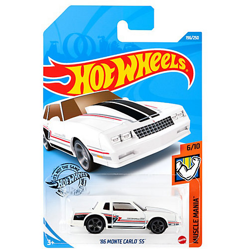 Базовая машинка Hot Wheels 86 Monte Carlo SS от Mattel