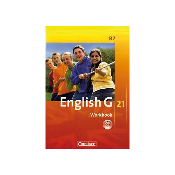 English G 21, Ausgabe B: 6. Schuljahr, Workbook m. Audio-CD (BandNr.2)