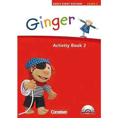 Ginger - Early Start Edition: 2. Schuljahr, Activity Book, m. Lieder-/Text-Audio-CD . (Att8:BandNrText: 2)