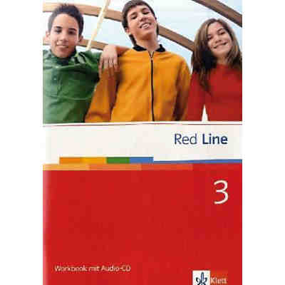Red Line: Workbook, m. Audio-CD (Att8:BandNrText: 3)