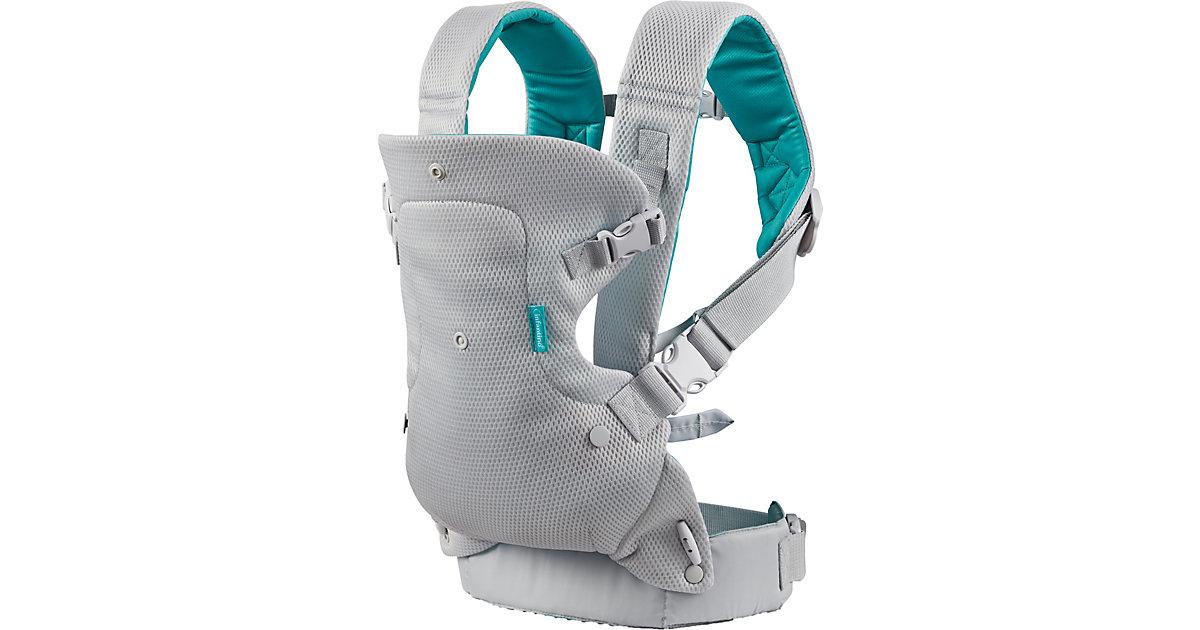 Babytrage Flip 4-In-1 Light & Airy grau/grün