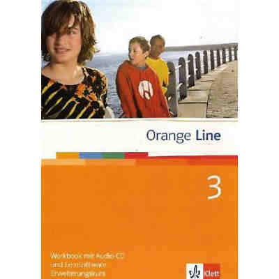 Orange Line: Klasse 7, Workbook m. Audio-CD u. CD-ROM, Erweiterungskurs (BandNr. 3)