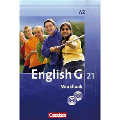 English G 21, Ausgabe A: 6. Schuljahr, Workbook m. CD-ROM (e-Workbook) u. Audio-CD (BandNr. 2)