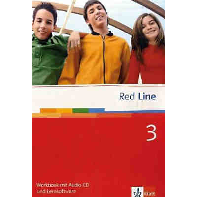 Red Line: Workbook, m. Audio-CD u. CD-ROM (BandNr. 3)