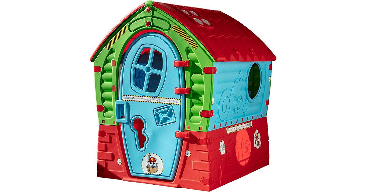 Spielhaus Dream House Special Edition Kaufladen & Feuerwehr mehrfarbig