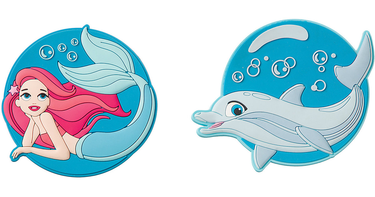 Patches Mermaid & Dolphin türkis