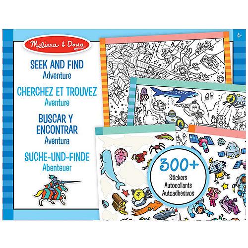 """Набор стикеров Melissa & Doug """"Творчество"""" Приключения от Melissa & Doug"""