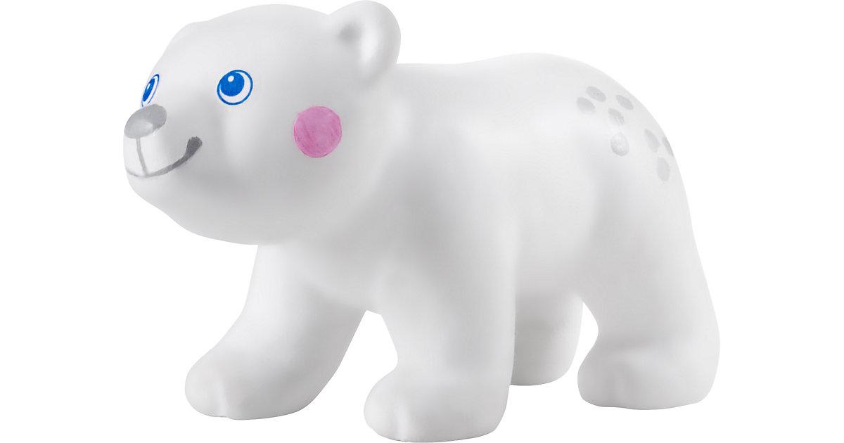 HABA 305448 Little Friends – Eisbärbaby weiß
