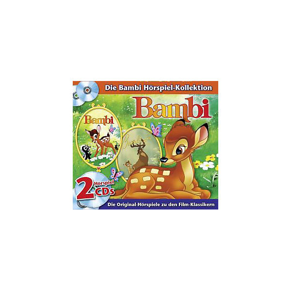 CD Disney-Box: Bambi 1+2