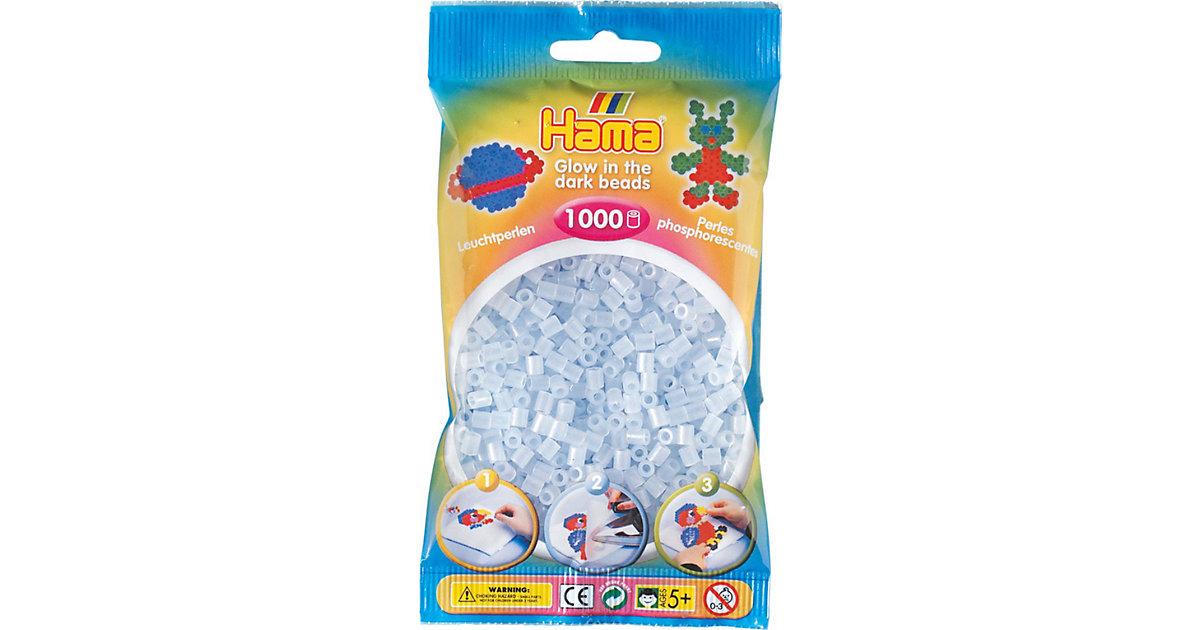 HAMA 207-57 midi-Perlen, 1.000 Stück, Leucht-Blau