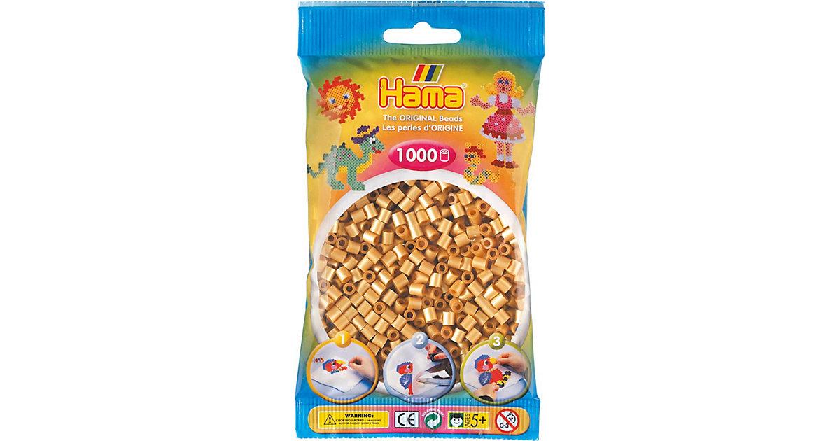 HAMA 207-61 midi-Perlen, 1.000 Stück, Gold